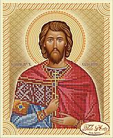 Схема для вышивки бисером Святой Мученик Евгений ТИМ-043
