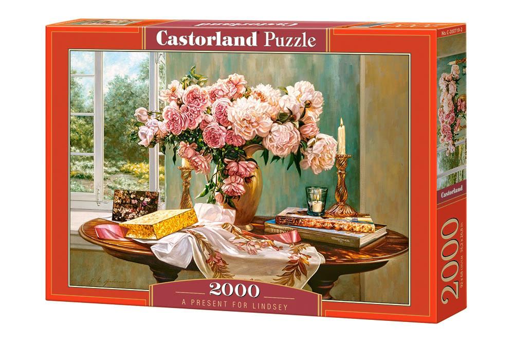 Пазлы Castorland Букет прекрасных роз С-200719, 2000 элементов