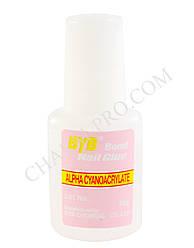 Клей с кисточкой для искусственных ногтей ByB Nail Glue 10 гр.