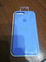 Чехол накладка Silicone Case для iPhone 7 + \ 8 Plus, № 43 lilac