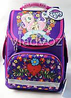 Школьный каркасный рюкзак для девочек маленький понни  LP Pony Kite