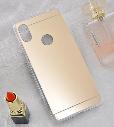 Зеркальный силиконовый чехол для Xiaomi Redmi Note 5/5Pro