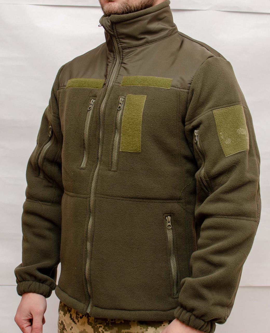 Тактическая флисовая кофта  Army Tactic хаки