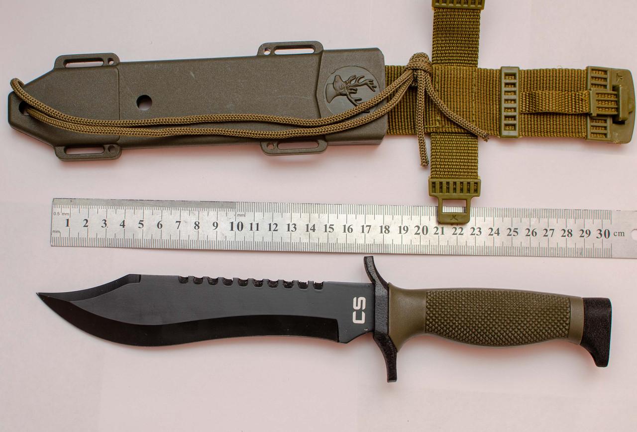 Нож для выживания боуи CS(CS013B)