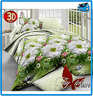 Комплект постельного белья Ранфорс (семейный размер)