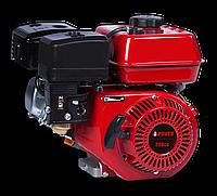 Двигатель бензиновый 177FS  270 куб.см 7.5л.с.  диам. вала 25мм (Шпонка)