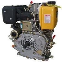 Двигатель 186F OHV  дизельный  9 л.с электро стартер  (ШЛИЦ)