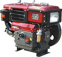 Двигатель SH195NDL  дизельный водяное охлаждение 12 л.с электро стартер  (ШЛИЦ)