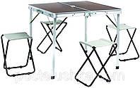Набор для пикника TO-8833-А стол + 4 стула