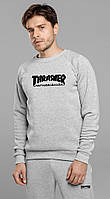 Теплый спортивный костюм мужской Thrasher, трешер