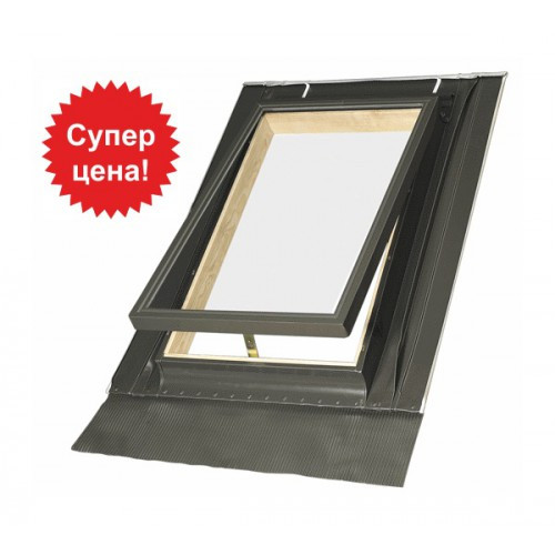 Дахове вікно-вилаз FAKRO WGT з гартованим склом люк на кришу Факро с закаленным стеклом