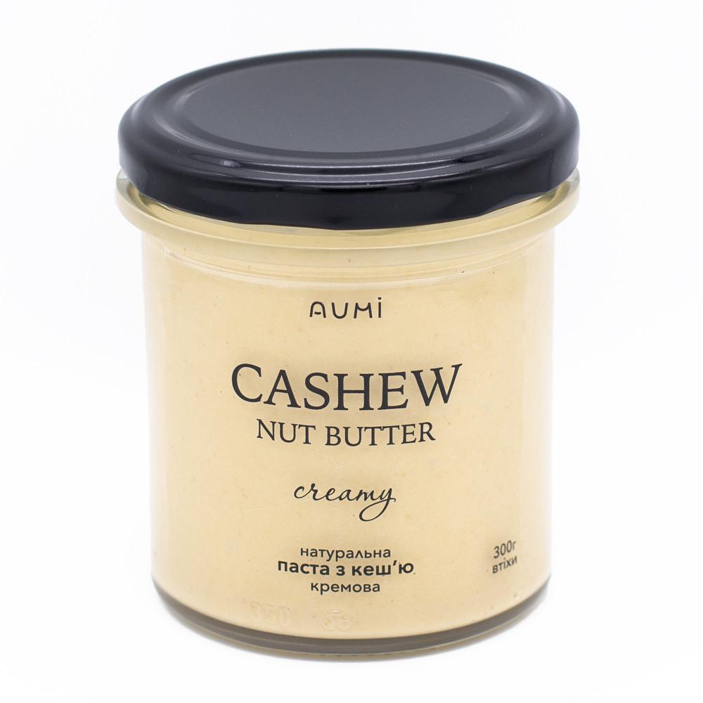 Кремовая паста из орехов кешью, 300г, никаких добавок, только орех, вкусная и питательная