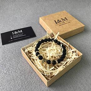 Браслет I&M Craft из шунгита Leopard (141041), фото 2