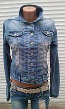 Жіноча джинсова куртка