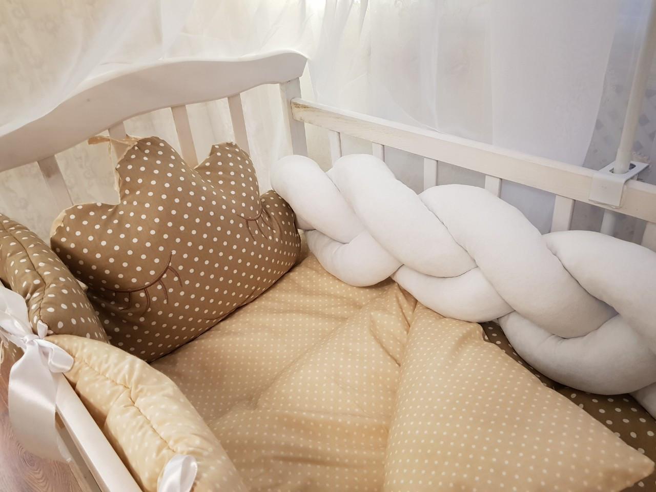 Детский постельный набор в кроватку Bonna Коса