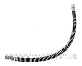 Шланг тормозной Т-150 ниппель-ниппель длинна 0,5 м. с пружиной, фото 2