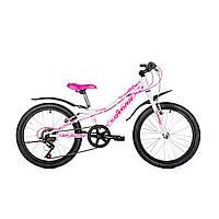"""Детский велосипед Avanti Astra 20"""" бело-розовый"""