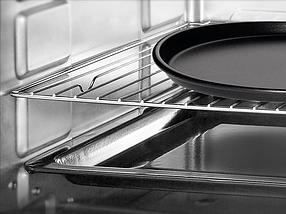 Электрическая духовка  LIBERTON LEO-650 Black Mirror (65л, конвекция, вертел, подсветка), фото 3
