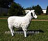 Садовая фигура Пастух с овцами, фото 3