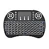 Беспроводная мини клавиатура MWK-08RF / i8 с тачпадом и LED подсветкой