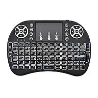 Безпровідна міні клавіатура MWK-08RF / i8 з тачпадом і LED підсвічуванням, фото 1