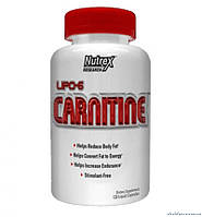 Nutrex Lipo 6 Carnitine 120 капсул Жиросжигатель