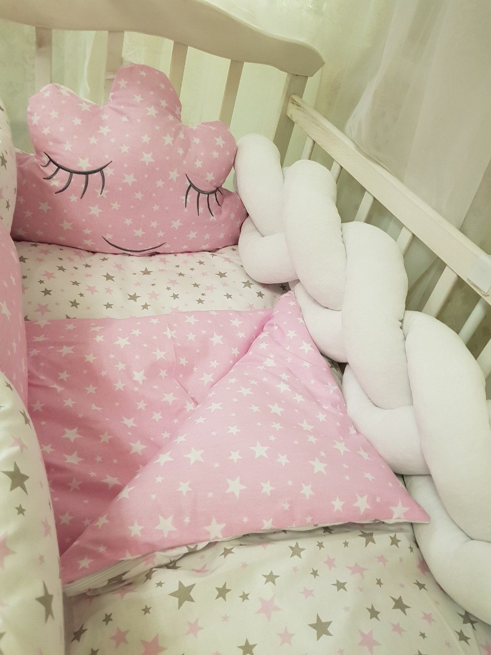 Детский постельный набор в кроватку Bonna Облачко