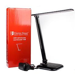 Настольная LED лампа Electro House 11W черная