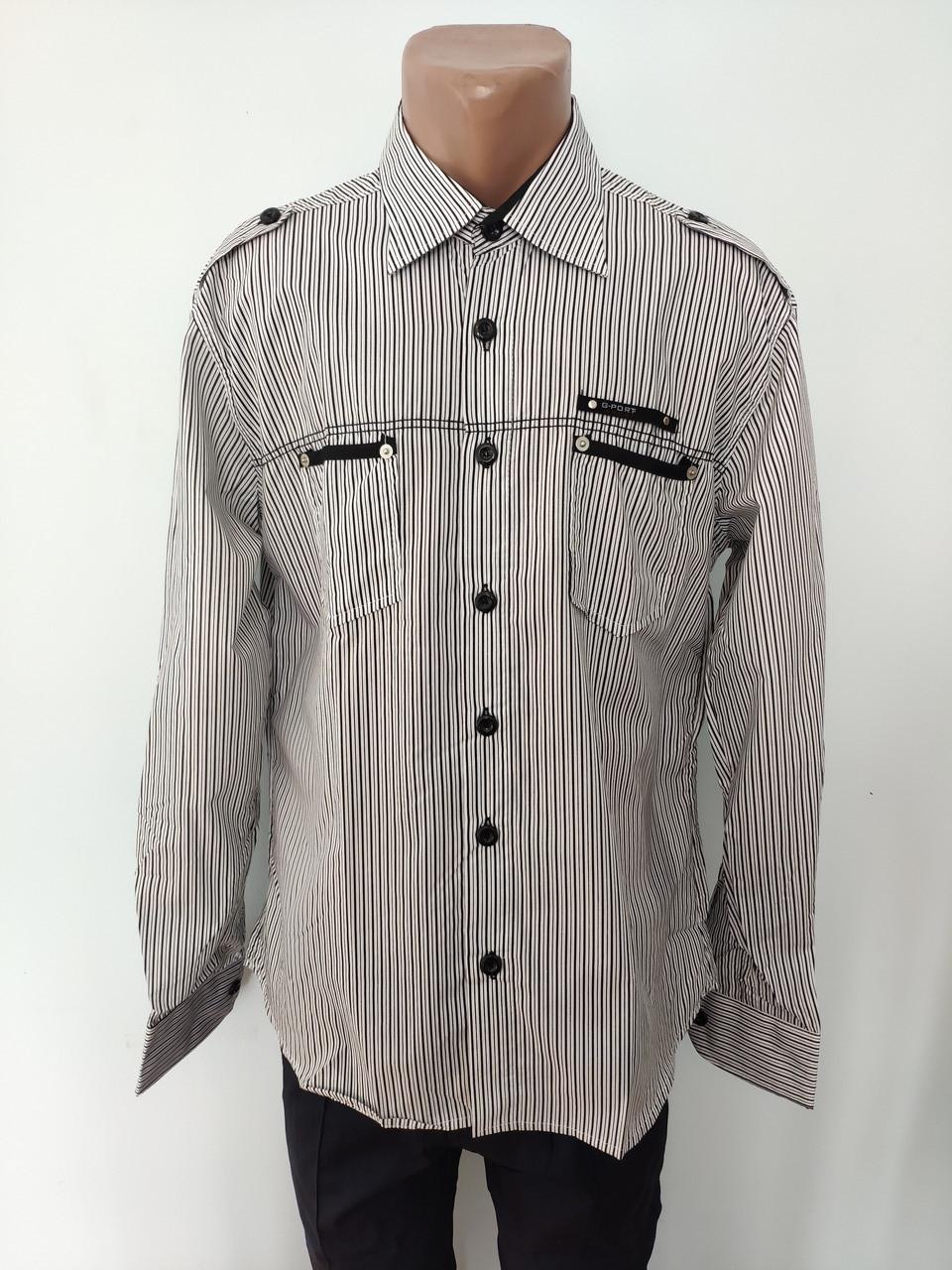 Рубашка мужская высокого качества больших размеров G-PORT, Турция