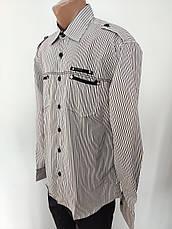 Рубашка мужская высокого качества больших размеров G-PORT, Турция, фото 2