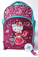 Школьный рюкзак для девочек Hello Kitty Kite малиновый