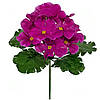 Букет искусственных цветов Фиалка цветная бордюр , 24 см