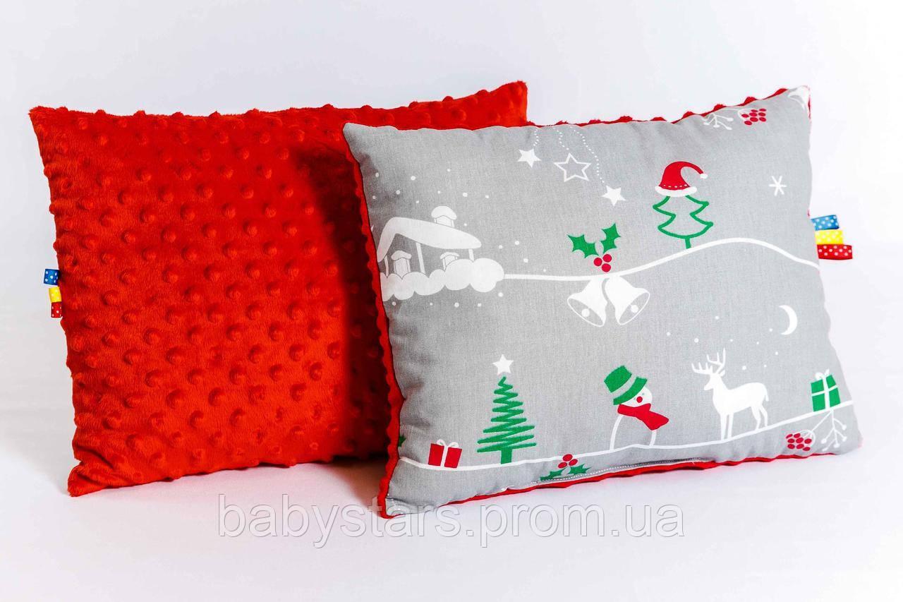 """Детская подушка """"Рождественская сказка"""" 30 х 40 см"""
