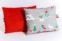 """Детская подушка """"Рождественская сказка"""" 30 х 40 см, фото 1"""