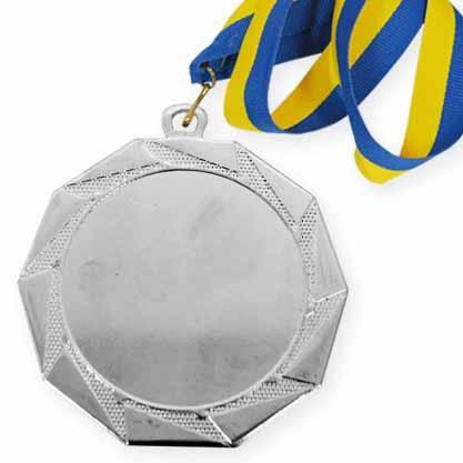 Медаль спорт Д-83 Ø70мм серебро / 2  место