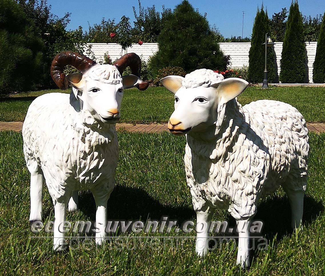 Садовая фигура Баран и Овца