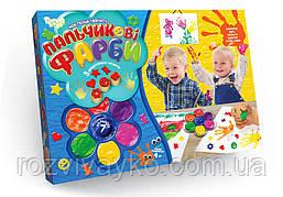 Пальчиковые краски 7 цветов Danko Toys