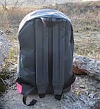 Хит! Стильный рюкзак NIKE (Найк). Серый с розовым. Vsem, фото 3