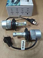 Автомобильные светодиодные (LED) лампы SIGMA S200 (H4) Hi/Low 5000K Яркие 8000Lm комплект 2 штуки, фото 1