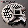 Нож и решетка для мясорубки Kenwood MG450, MG470, MG510