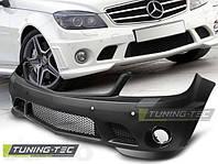 Бампер передний Mercedes C W204 в стиле AMG