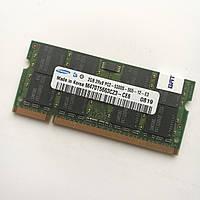 Оперативная память для ноутбука Samsung SODIMM DDR2 2Gb 667MHz 5300s CL5 (M470T5663CZ3-CE6) Б/У, фото 1