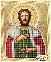 Схема для вышивки бисером Святой Благоверный Князь Александр Невский ТИМ-044