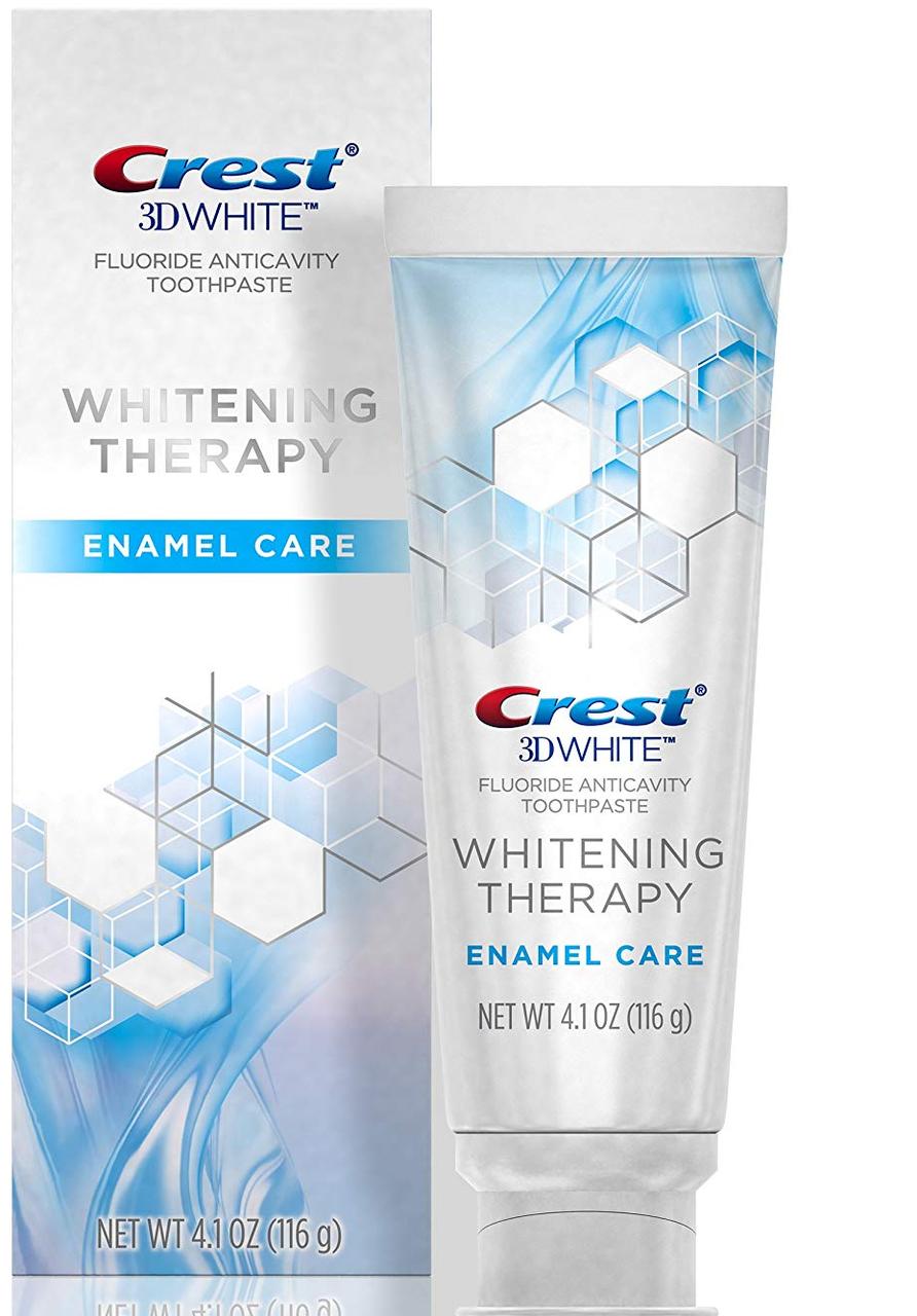 Відбілююча зубна паста, Crest 3D White, Whitening Therapy Enamel Care,