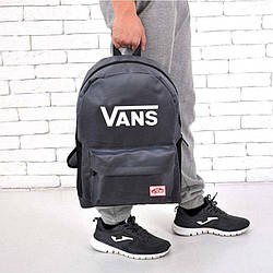 Рюкзак в стиле Vans of the Wall серый