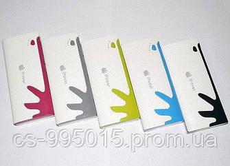 Внешнее портативное зарядное устройство клякса Apple iPower 30000 mAh реплика фонарик 3 USB