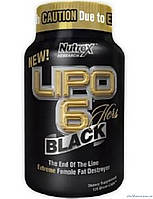 Nutrex Research Lipo 6 Black Hers (Липо 6 Блэк Хёрс) 120 капсул Жиросжигатель