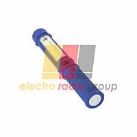 Фонарик RH MAGNET METAL 1W+1W COB LED 1*AAA голубой