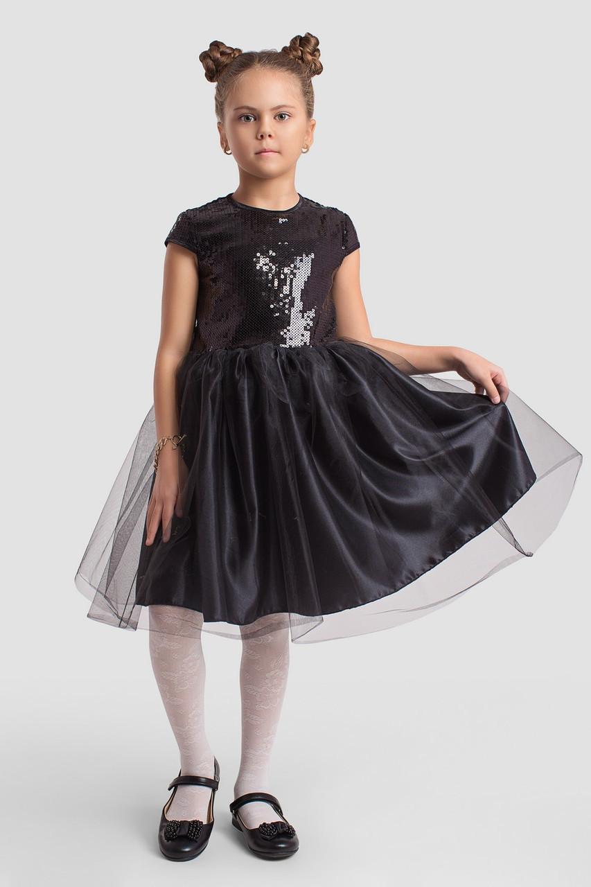 Платье LiLove 2-142 140 черный