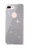 Чехол 3 в 1 с блестками на Iphone 6/6S, фото 1